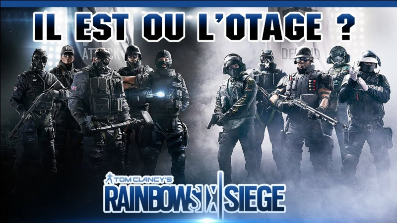 quizz rainbow six siege quiz jeux vid o. Black Bedroom Furniture Sets. Home Design Ideas