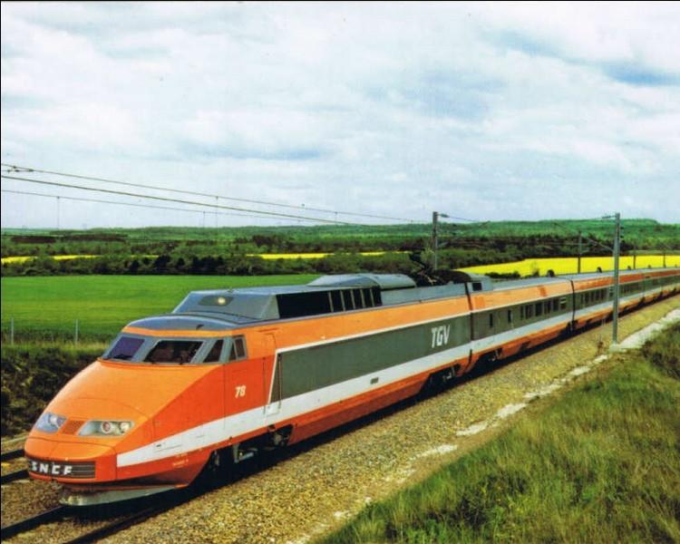 Transport : Que mois de 1981 le premier TGV fut-il mis en service sur la ligne Paris-Lyon ?