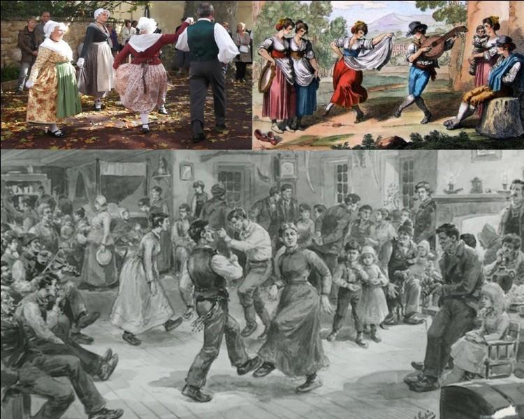 Folklore : Quelle danse d'origine provençale est exécutée sur un air entraînant à deux temps et composée de sauts, de tours, de claquements de doigts et de cris ?