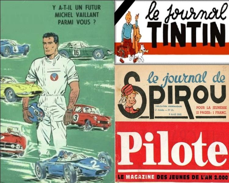 BD : Dans quel hebdomadaire pour la jeunesse, Michel Vaillant fit-il son apparition en 1957 ?