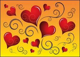 Quelle couleur pour vous symbolise l'amour ?