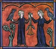 Pour commencer, un couple littéraire de la fin du XIIème siècle ; l'action est en Provence mais le texte, unique chantefable, est en picard....