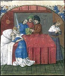"""Poursuivons par les stars de la """"matière de Bretagne"""". On est en Cornouaille, il est question d'un philtre d'amour, d'un oncle souverain, de son neveu amoureux et de la promise du roi..."""