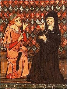 Revenons en France au XIIème siècle, et en partie en Bretagne. Autre couple célébrissime d'intellectuels et donc de clercs. Amour consommé (ils ont un enfant), l'histoire finit donc mal. Surtout pour lui :