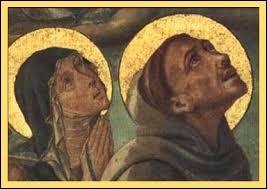 Repassons en Italie, à la fin du XIIème et au début du XIIIème. Ce couple n'en est pas réellement un, il fut plus une fervente amitié au service d'une œuvre religieuse :