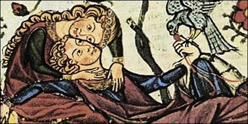 À quelle période le roman courtois s'est-il développé ?