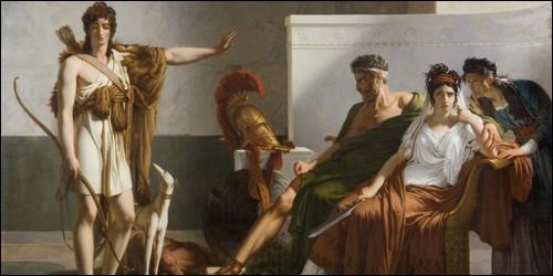 Quel est le nom du fils de Thésée, qui fut violemment aimé par sa belle-mère Phèdre ?