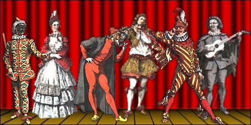 Lequel de ces personnages est emblématique de la commedia dell'arte ?