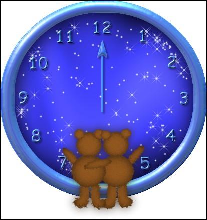Maintenant, tu dors bien. Les oursons regardent les étoiles qui brillent dans le ciel. Ils peuvent dire qu'il est...