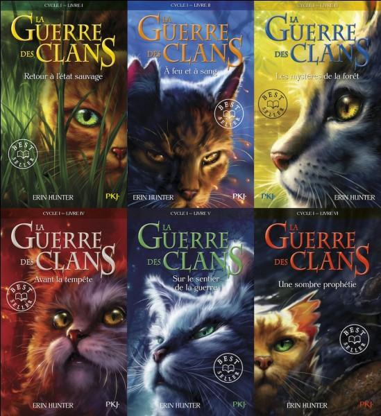 Quels sont les titres des tomes du premier cycle ?