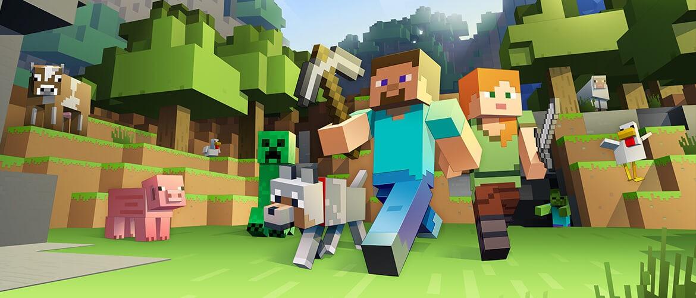 Minecraft : les personnages
