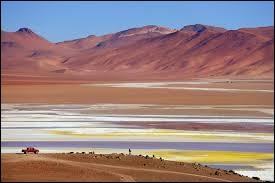 Dans quel pays se situe le désert d'Atacama, qui compte près de 200 000 km² ?