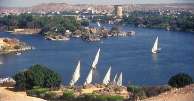 Lequel de ces pays n'est pas traversé par le Nil ?