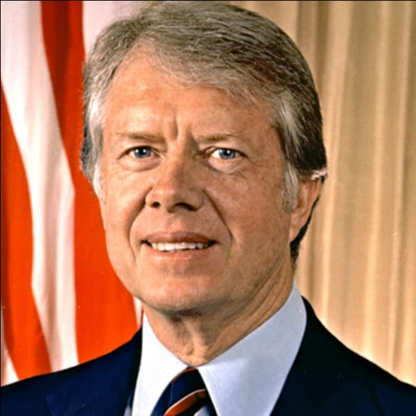 Qui était président des États-Unis en 1977 ?