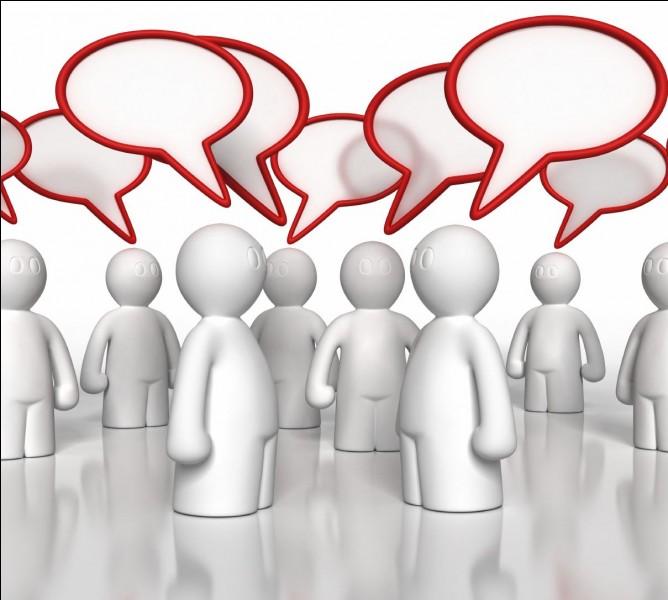 Aimez-vous le contact avec les gens ?
