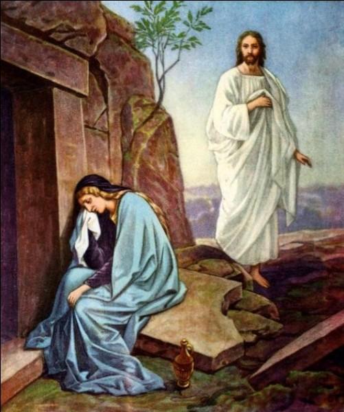 """P - Pour les chrétiens, """"Pâques"""" commémore la résurrection de Jésus-Christ."""