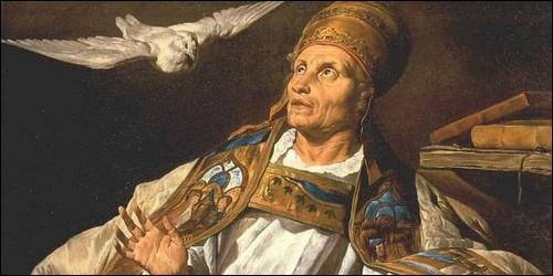 """C'est en l'honneur de ce pape que le """"chant messin"""" fut renommé :"""