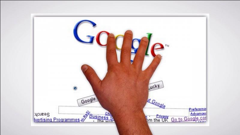 Question simple pour démarrer, que faut-il taper pour aller sur l'écran Google avec une certaine gravité ?
