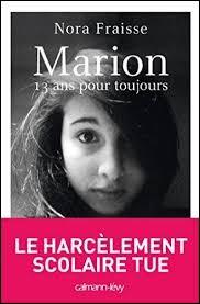 """Quand on te parle du film """"Marion, 13 ans pour toujours"""" sur le suicide d'une enfant de 13 ans suite au harcèlement scolaire :"""