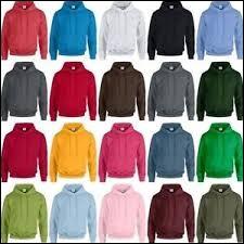 Laquelle de ces couleurs portes-tu le plus rarement ?