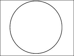 Trace avec ton doigt un rond sur ton écran d'ordinateur.Avec quelle main as-tu tracé ce cercle ?