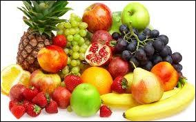 Quel est le fruit que vous préférez ?