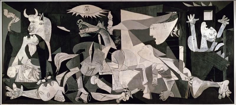 À quel peintre associez-vous l'œuvre Guernica ?