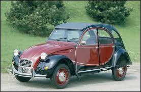 Lequel de ces modèles de voitures n'est pas de la marque Citroën ?