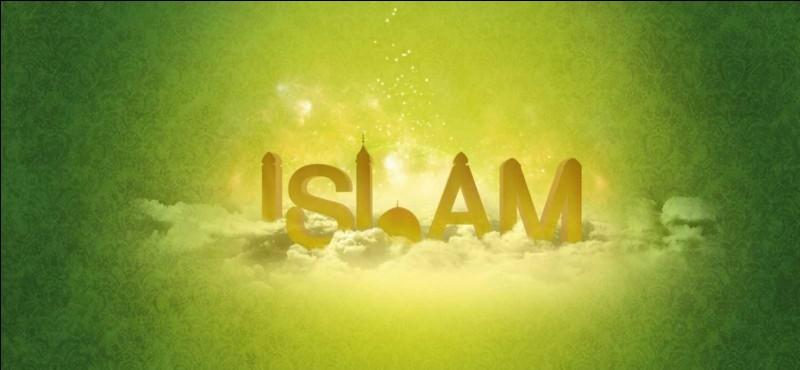 Comment s'appellent les pratiquants de l'islam ?
