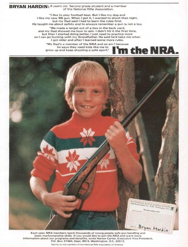 Des enfants armés pour la vie