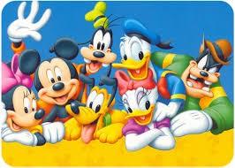 Quelques personnages de l'univers Disney !