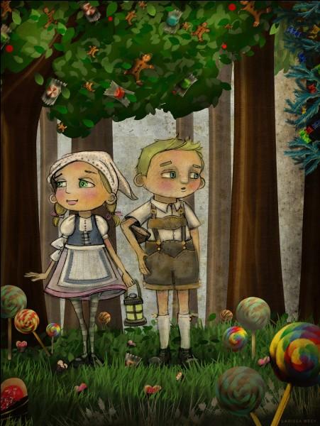 En quoi la maison d'Hansel et Gretel est-elle faite ?