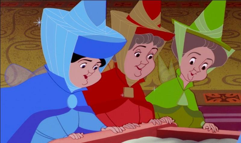 """Comment les trois fées, de """"La Belle au bois dormant"""", se nomment-elles ?"""