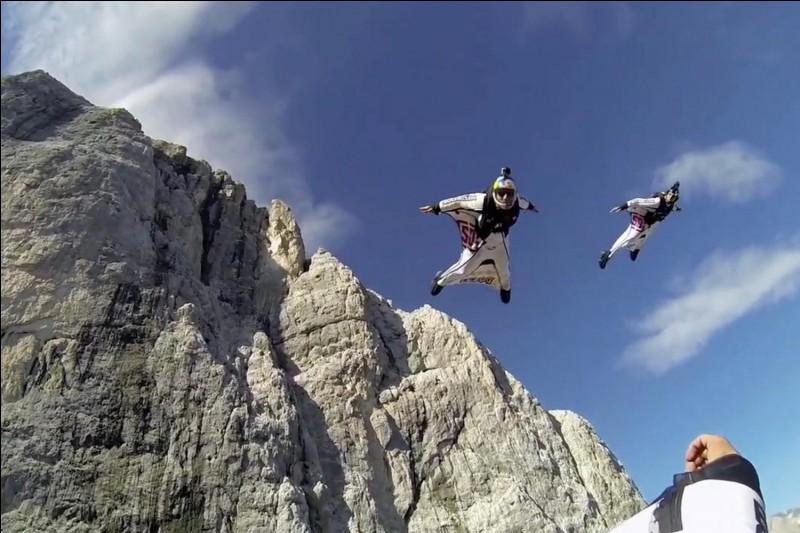 Le wingsuit :