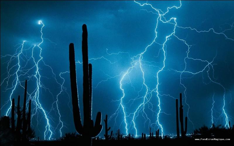 Pendant les orages :