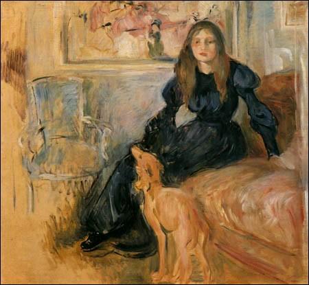 """Qui a peint """"Julie et son lévrier"""" ?"""