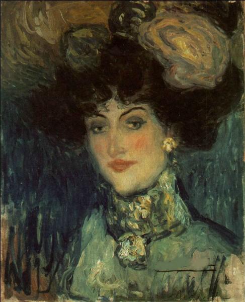"""Qui a peint """"Femme au chapeau à plumes"""" ?"""