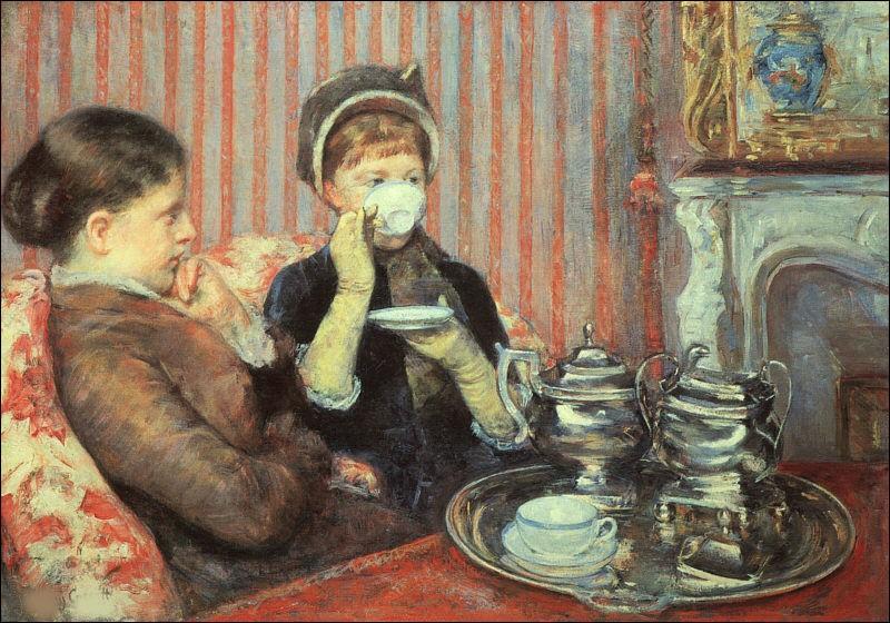 """Qui a peint """"La tasse de thé"""" ?"""
