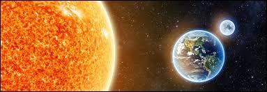 Dans le système solaire, le Soleil tourne autour de la Terre.