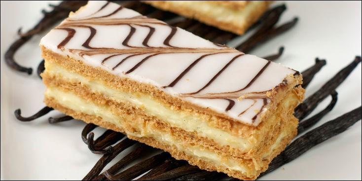 Quelle est la pâte qui sert à la fabrication du mille-feuille ?
