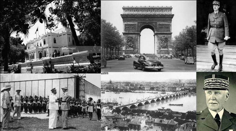 Pendant la 2e Guerre mondiale, la France aura de nombreuses capitales. Bien sûr, ces capitales seront plus ou moins légales, officielles… Plusieurs villes le seront simultanément.Quel est le nombre de ces capitales ?