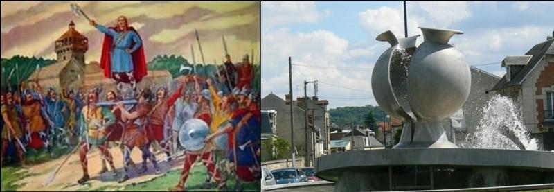Mais, entre l'an 486 et l'an 508 : Une autre ville devient « de facto », la capitale des rois saliens ! Après sa victoire, Clovis s'installe dans cette ville. Ne cherchez pas les fleurs, il n'y a plus de contenant, il a été brisé !Quelle est cette nouvelle capitale ?