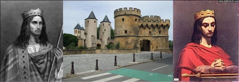 A la mort de Dagobert (639), le royaume est, encore une fois, divisé entre ses deux fils. Clovis II conserve Paris comme capitale. Sigebert III, roi des Francs d'Austrasie, part pour son royaume.Quelle capitale choisit-il ?