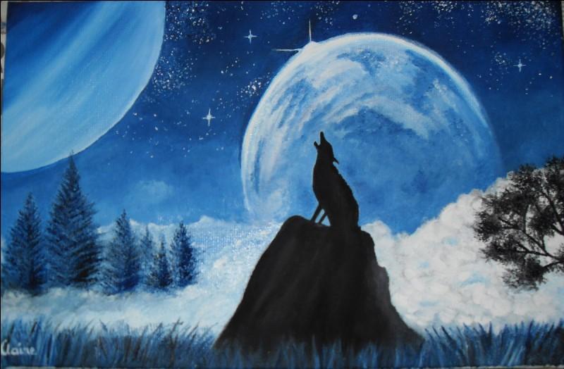 La Lune émet sa propre lumière.