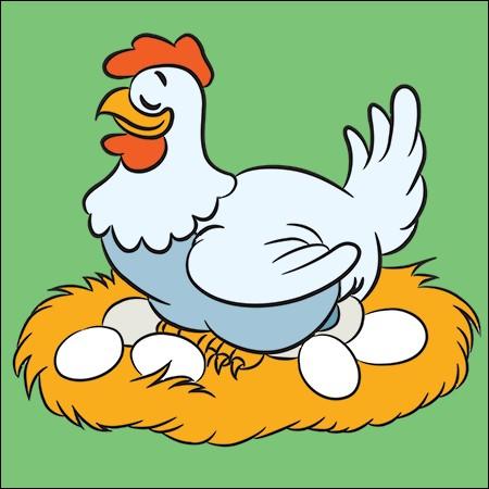 Que se passe-t-il quand une poule prend son pied ?