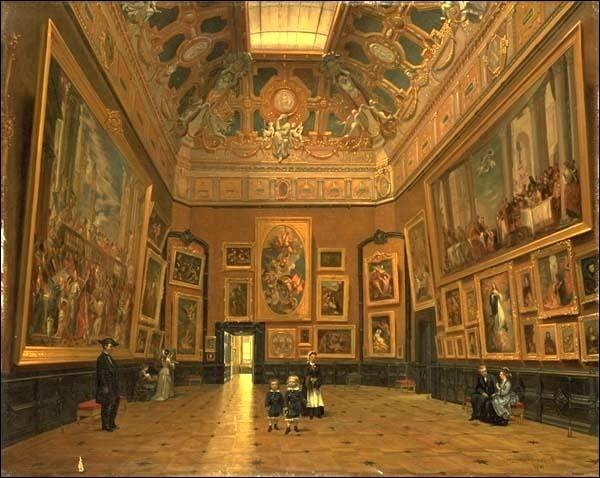 """Où rencontrerez-vous """"le salon carré"""" dans lequel Napoléon 1er et Marie-Louise célébrèrent leur mariage ?"""