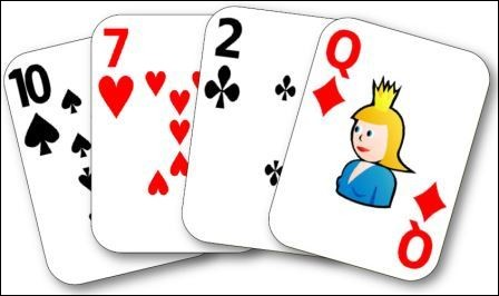 Que signifie un carré, dans un jeu de cartes ?