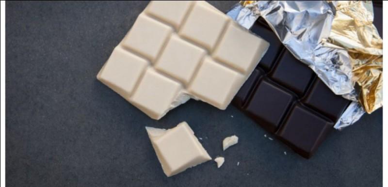 Quel est le carré de chocolat le moins calorique ?