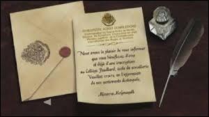Si une personne de ta famille vivant avec toi devait recevoir sa lettre pour aller à Poudlard, que ferais-tu ?