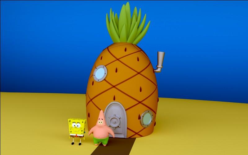 Lequel de ces personnages vit dans un ananas ?